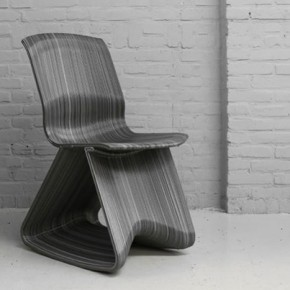 FLOW OPEN ROCKING CHAIR