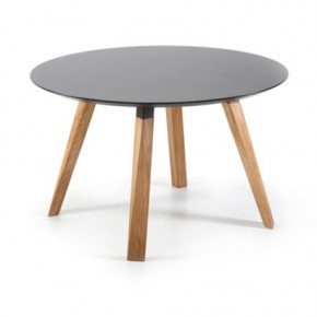 OBLIQUE ROUND TABLE